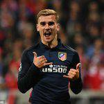 griezmann Atletico Madrid - Leicester