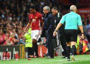 Premier League Mourinho Martial Juve