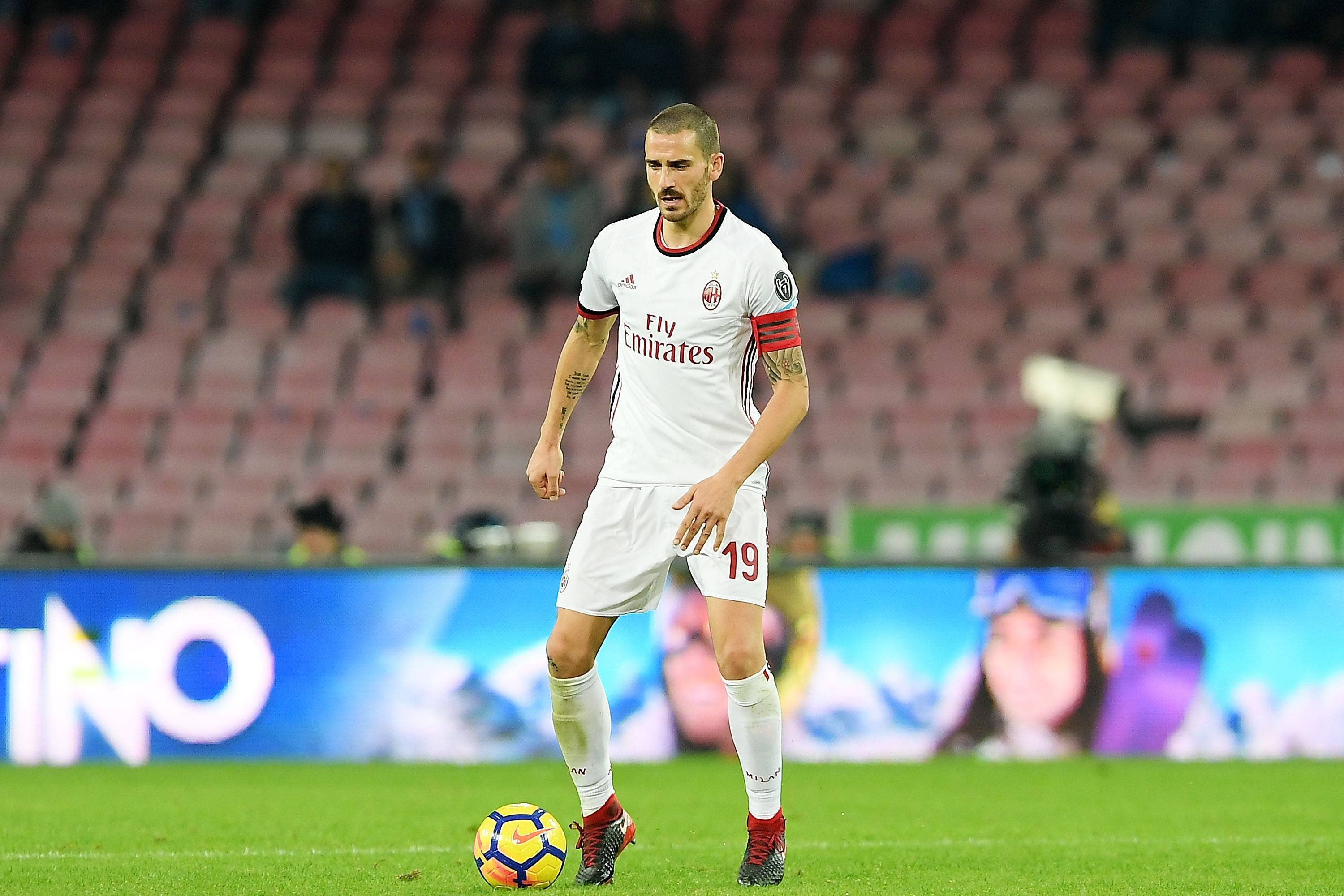 Leonardo Bonucci, addio al Milan? L'interesse del Real Madrid