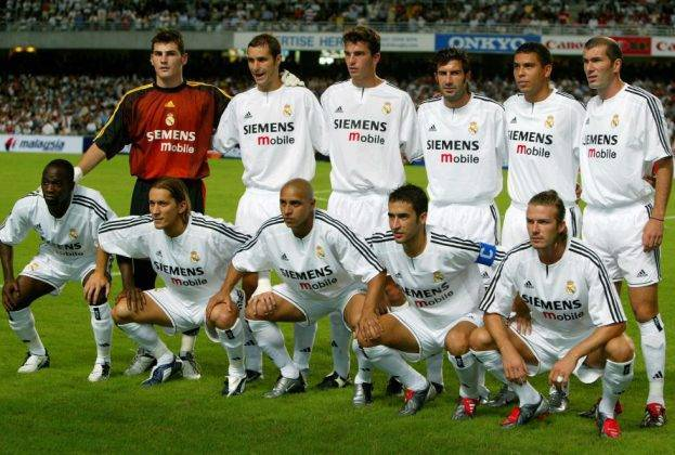 Real Madrid 1998-2002: I Galacticos