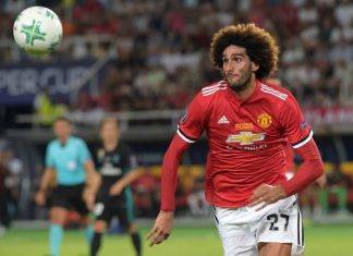 Milan Fellaini Manchester United