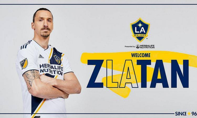 UFFICIALE – Ibrahimovic ha firmato con i Los Angeles Galaxy