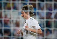 Inter Real Madrid Modric