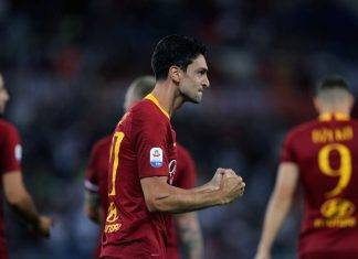 Roma Javier Pastore goal tacco