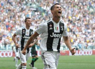 Juventus Cristiano Ronaldo big match media goal