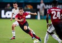 Milan Ander Herrera Manchester United Barcellona