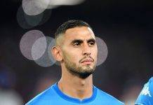 Napoli Ghoulam infortunio guarito