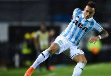 Inter Lautaro Martinez Liniers Racing di Avellaneda