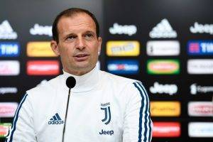 Allegri conferenza stampa
