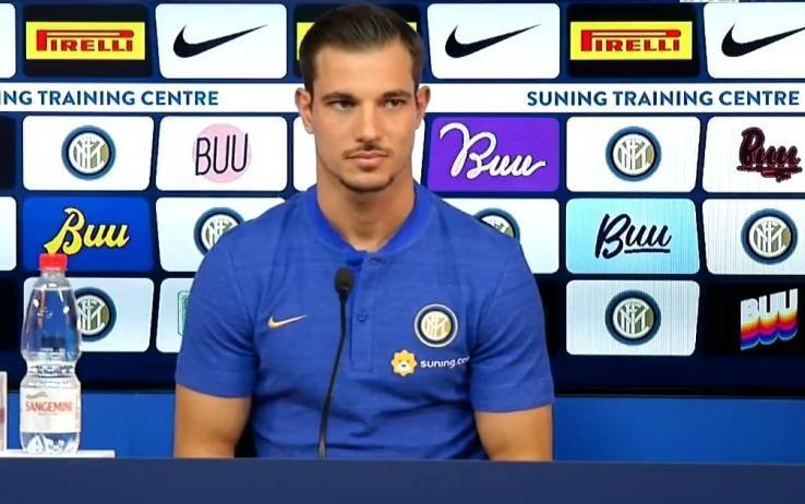 Inter, Cedric presenta la sfida con il Francoforte in conferenza (VIDEO)