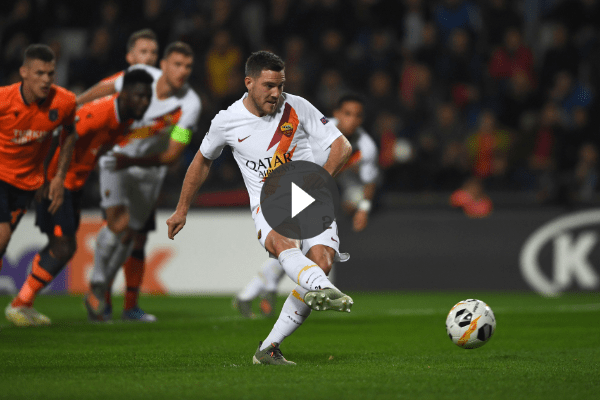 Basaksehir-Roma, 0-3: In rete Veretout, Kluivert e Dzeko (VIDEO HIGHLIGHTS)