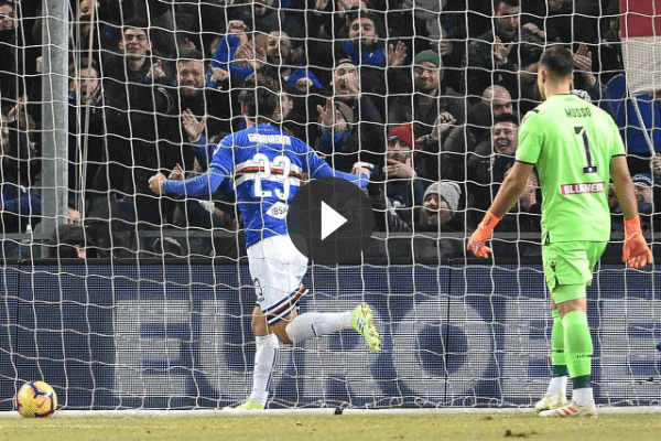 Sampdoria-Udinese 2-1: Nestorovski, Gabbiadini e Ramirez (VIDEO HIGHLIGHTS)
