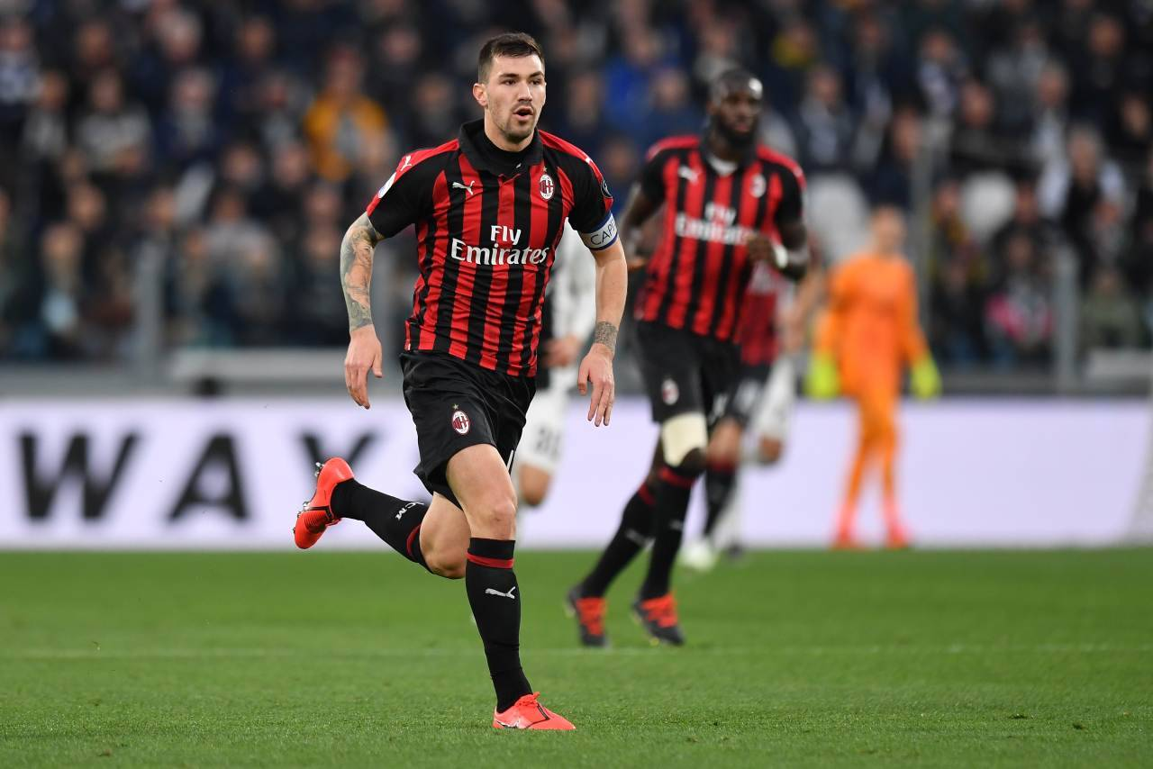 Ultime Milan incidente Romagnoli