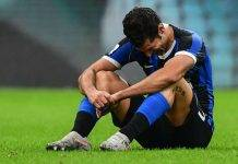 notizie inter infortunio candreva