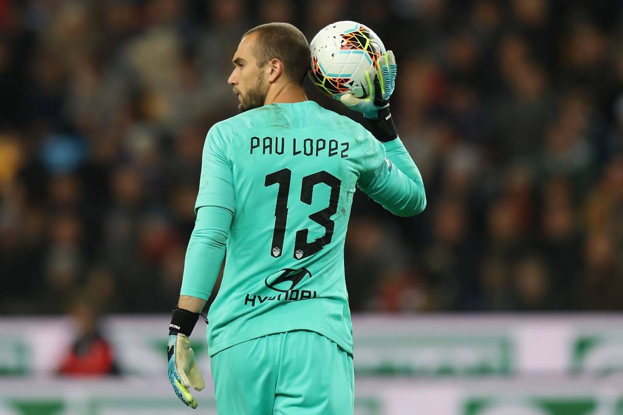 roma infortunio pau lopez