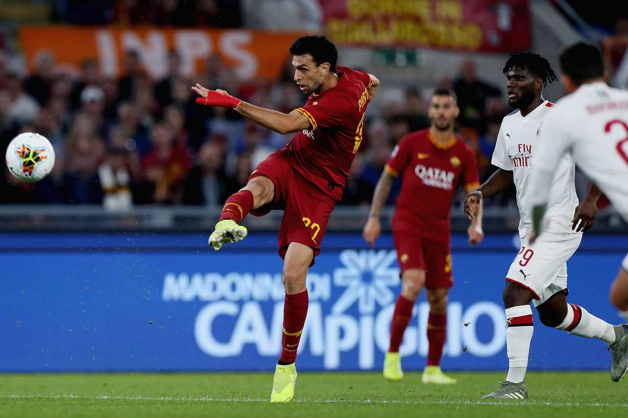 ultime as roma infortunio pastore