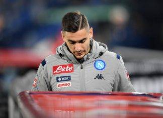 ultime napoli infortunio meret