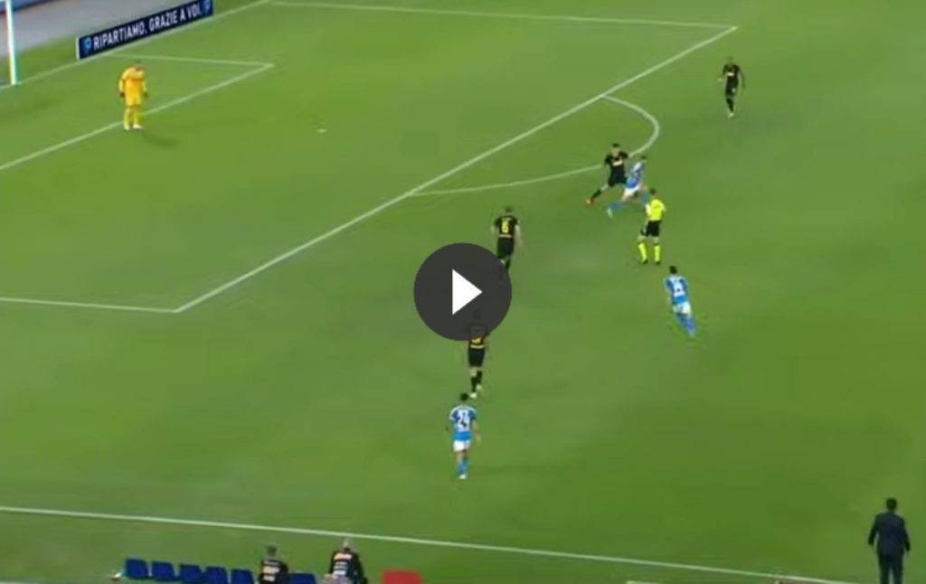 Coppa Italia, Napoli-Inter 1-1: gli highlights video del match