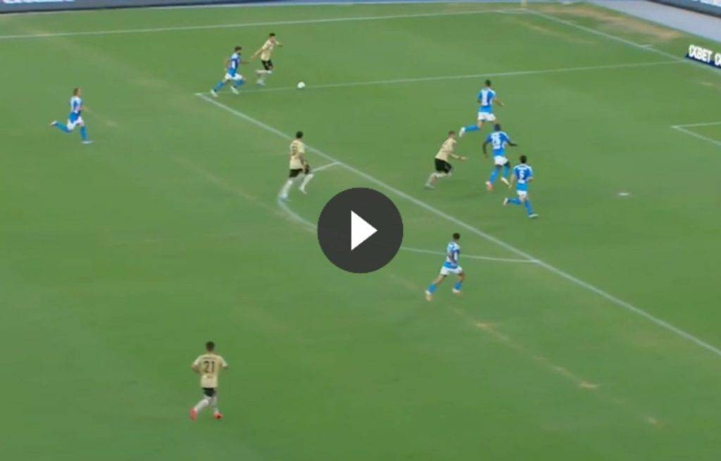 Napoli-Spal 3-1: gol Mertens, Petagna, Callejon e Younes (HIGHLIGHTS VIDEO)
