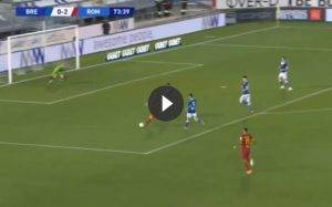Brescia Roma 0-3: gol Fazio, Kalinic e Zaniolo (VIDEO HIGHLIGHTS)