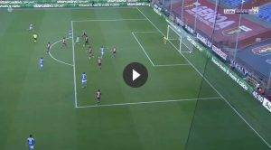 Genoa-Napoli 0-1, splendido gol di Dries Mertens (VIDEO)