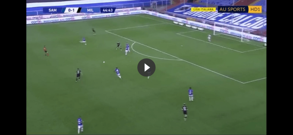 Sampdoria-Milan, splendido gol di Ibrahimovic di testa (VIDEO)