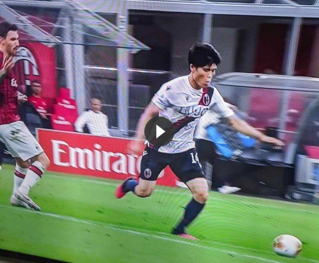 Milan-Bologna, 2-1: accorcia Tomiyasu con un siluro (VIDEO HIGHLIGHTS)