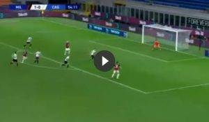 Milan-Cagliari 2-0, Ibrahimovic inchioda Cragno (VIDEO GOL)